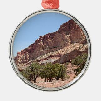 Capitol Reef National Park, Utah, USA 12 Metal Ornament
