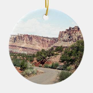 Capitol Reef National Park, Utah, USA 13 Ceramic Ornament