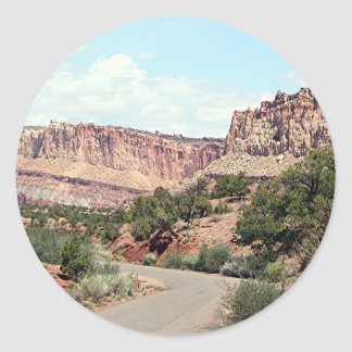 Capitol Reef National Park, Utah, USA 13 Classic Round Sticker