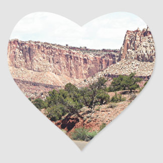 Capitol Reef National Park, Utah, USA 13 Heart Sticker