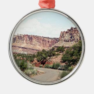 Capitol Reef National Park, Utah, USA 13 Metal Ornament