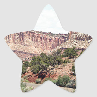 Capitol Reef National Park, Utah, USA 13 Star Sticker