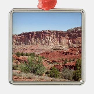 Capitol Reef National Park, Utah, USA 14 Metal Ornament