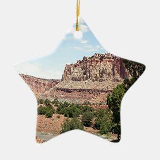 Capitol Reef National Park, Utah, USA 15 Ceramic Ornament