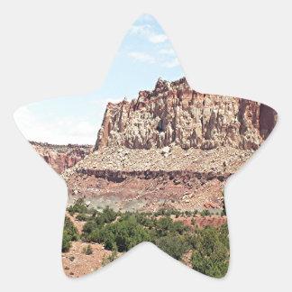 Capitol Reef National Park, Utah, USA 15 Star Sticker