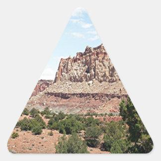 Capitol Reef National Park, Utah, USA 15 Triangle Sticker