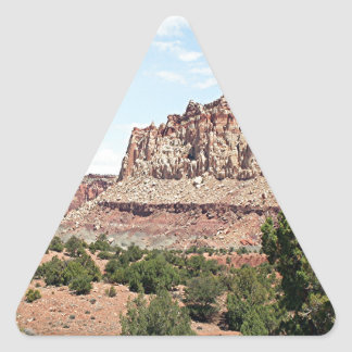 Capitol Reef National Park, Utah, USA 15 Triangle Sticker
