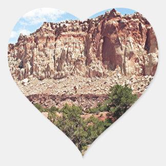 Capitol Reef National Park, Utah, USA 16 Heart Sticker