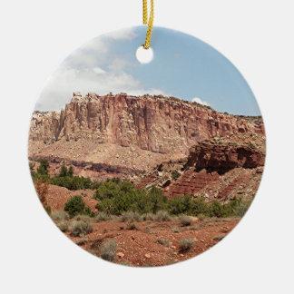 Capitol Reef National Park, Utah, USA 17 Ceramic Ornament