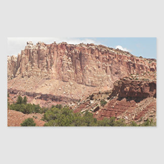 Capitol Reef National Park, Utah, USA 17 Rectangular Sticker