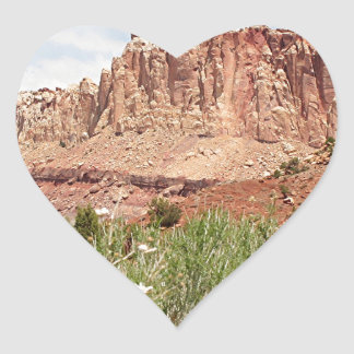 Capitol Reef National Park, Utah, USA 18 Heart Sticker