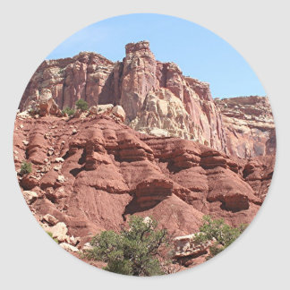 Capitol Reef National Park, Utah, USA 1 Classic Round Sticker