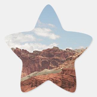 Capitol Reef National Park, Utah, USA 20 Star Sticker