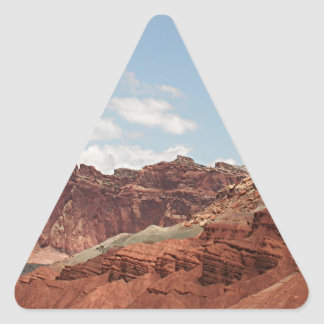 Capitol Reef National Park, Utah, USA 20 Triangle Sticker
