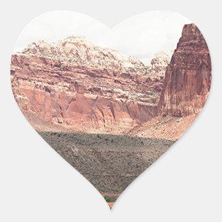 Capitol Reef National Park, Utah, USA 21 Heart Sticker