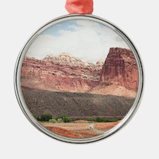 Capitol Reef National Park, Utah, USA 21 Metal Ornament