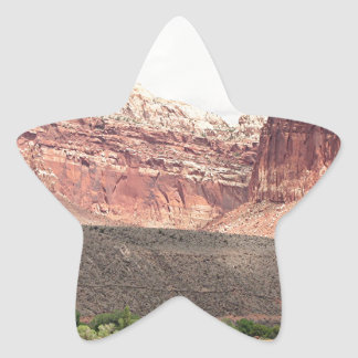 Capitol Reef National Park, Utah, USA 21 Star Sticker