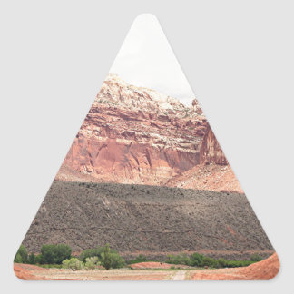 Capitol Reef National Park, Utah, USA 21 Triangle Sticker