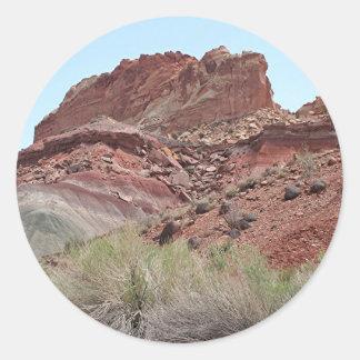 Capitol Reef National Park, Utah, USA 22 Classic Round Sticker