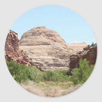 Capitol Reef National Park, Utah, USA 23 Classic Round Sticker