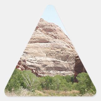 Capitol Reef National Park, Utah, USA 23 Triangle Sticker
