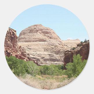 Capitol Reef National Park, Utah, USA 23 Classic Round Sticker