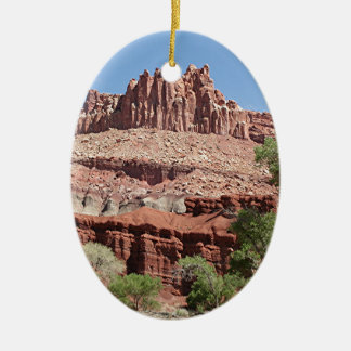Capitol Reef National Park, Utah, USA 2 Ceramic Ornament