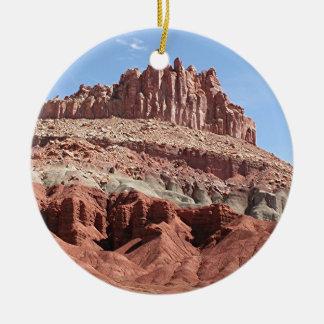 Capitol Reef National Park, Utah, USA 3 Ceramic Ornament