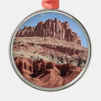 Capitol Reef National Park, Utah, USA 3 Metal Ornament