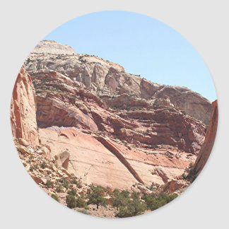 Capitol Reef National Park, Utah, USA 4 Classic Round Sticker