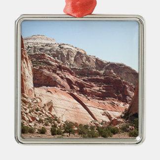 Capitol Reef National Park, Utah, USA 4 Metal Ornament