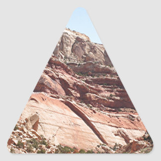 Capitol Reef National Park, Utah, USA 4 Triangle Sticker