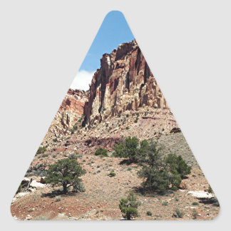 Capitol Reef National Park, Utah, USA 5 Triangle Sticker