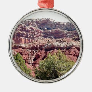 Capitol Reef National Park, Utah, USA 6 Metal Ornament