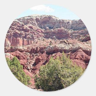 Capitol Reef National Park, Utah, USA 6 Classic Round Sticker