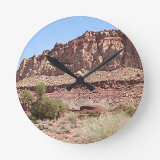 Capitol Reef National Park, Utah, USA 7 Round Clock