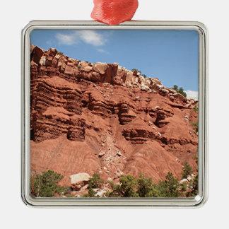 Capitol Reef National Park, Utah, USA 8 Metal Ornament