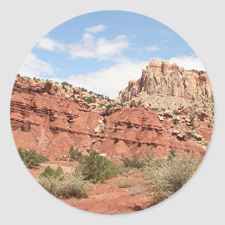 Capitol Reef National Park, Utah, USA 9 Classic Round Sticker