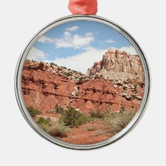 Capitol Reef National Park, Utah, USA 9 Metal Ornament