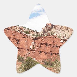 Capitol Reef National Park, Utah, USA 9 Star Sticker