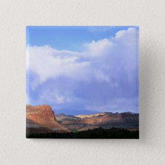 Capitol Reef National Park, Utah. USA. Cumulus Button