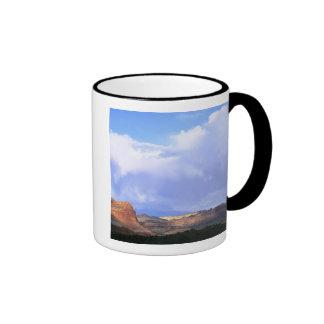 Capitol Reef National Park Utah USA Cumulus Coffee Mugs