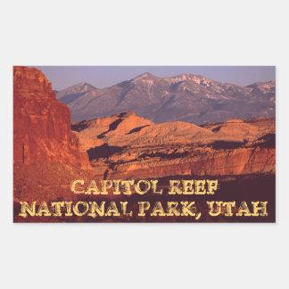 Capitol Reef NP Rectangular Sticker
