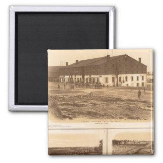 Capitol, Richmond Libby Prison Magnets