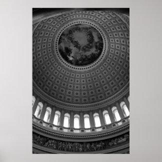 Capitol Rotunda B&W Posters