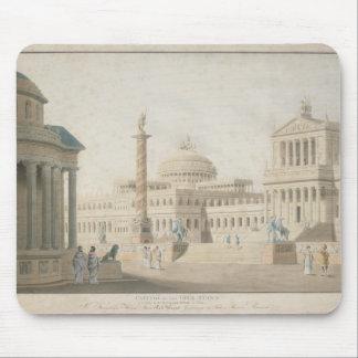 Capitol, set for 'La clemeza di Tito' by Mouse Pad