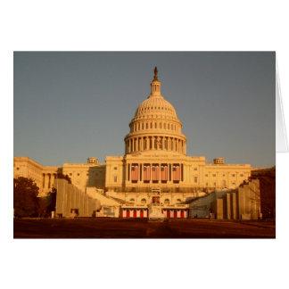 Capitol Sunset Notecard