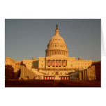 Capitol Sunset Notecard Stationery Note Card