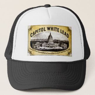 Capitol White Lead 1866 Trucker Hat