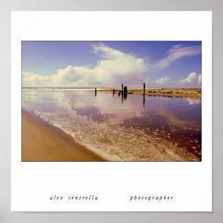 Capitola  Beach Print